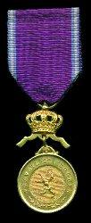 Medalla de Oro - Anverso