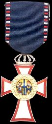 Knight Silver Cross