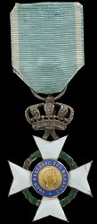 Knight's Silver Cross
