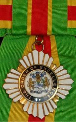 Guyana: The Order of Excellence of Guyana