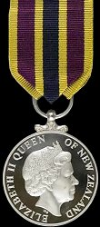 ODM of New Zealand: Police Meritorious Service Medal