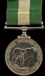 Federal Republic of Nigeria: Independence Medal 1960