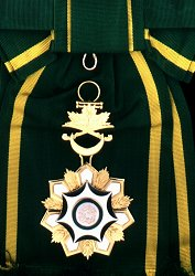 King Abdul Aziz Sash: Badge