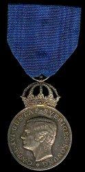 Medalla de Plata, Anverso